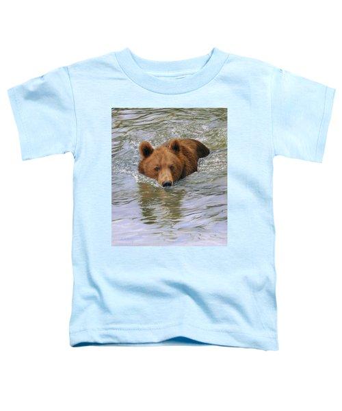 Brown Bear Toddler T-Shirt