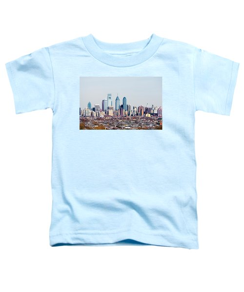 Buildings In A City, Comcast Center Toddler T-Shirt by Panoramic Images