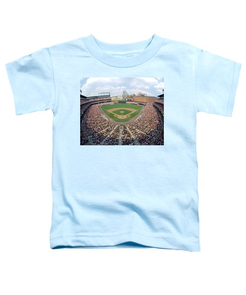 Camden Yards Baltimore Md Toddler T-Shirt by Panoramic Images