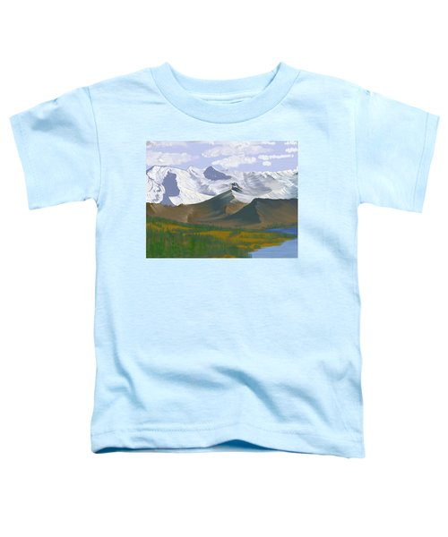 Canadian Rockies Toddler T-Shirt