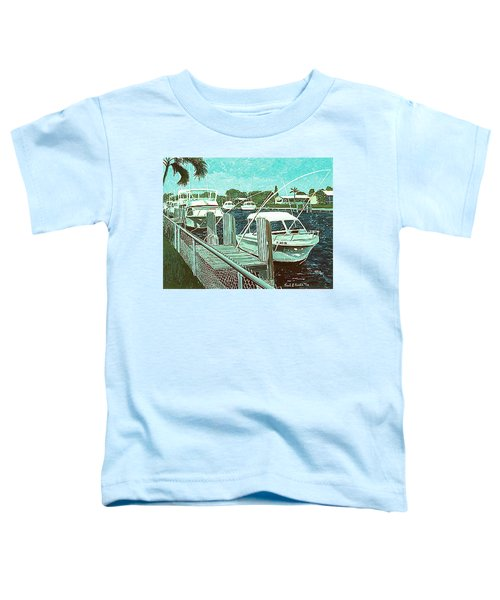 Canal At Pompano Toddler T-Shirt
