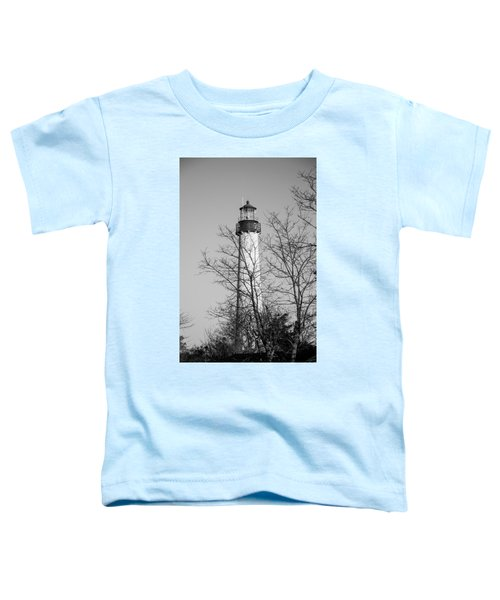 Cape May Light B/w Toddler T-Shirt