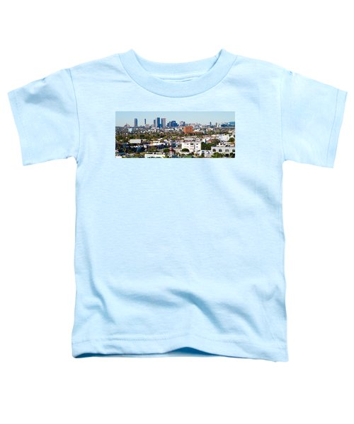 Century City, Beverly Hills, Wilshire Toddler T-Shirt by Panoramic Images