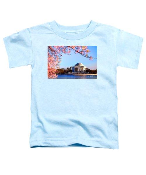 Cherry Jefferson Toddler T-Shirt