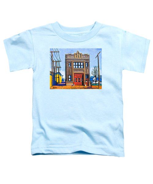 Chicago Fire Station Toddler T-Shirt