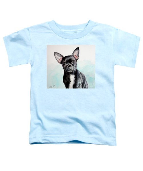 Chihuahua Black Toddler T-Shirt