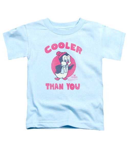 Chilly Willy - Cooler Than You Toddler T-Shirt by Brand A