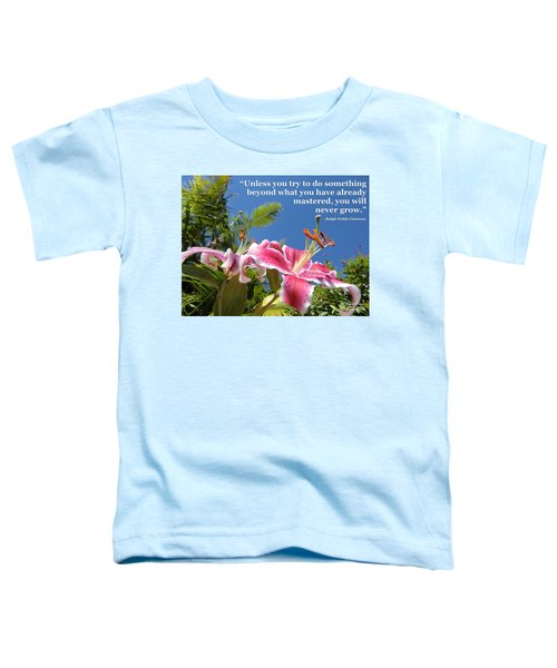 Choose Your Quote Choose Your Picture 18 Toddler T-Shirt
