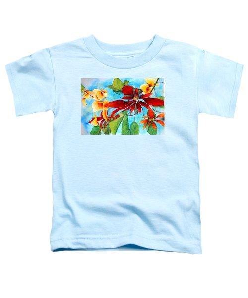 Christmas All Year Long Toddler T-Shirt