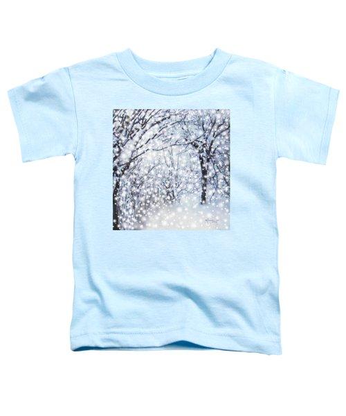 Christmas Snow Toddler T-Shirt