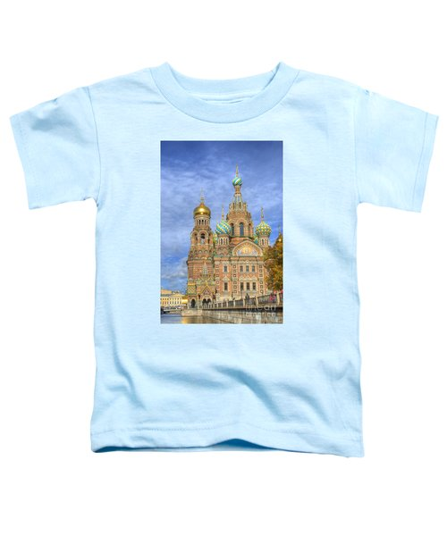 Church Of The Saviour On Spilled Blood. St. Petersburg. Russia Toddler T-Shirt