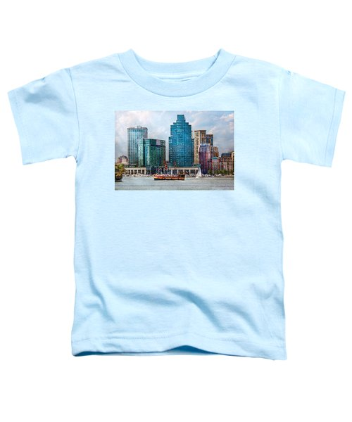 City - Baltimore Md - Harbor East  Toddler T-Shirt