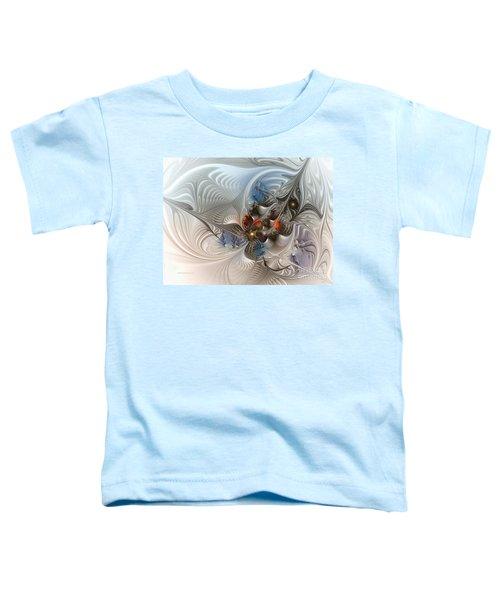 Cloud Cuckoo Land-fractal Art Toddler T-Shirt