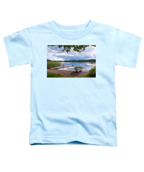 Cloudy Summer Day Toddler T-Shirt
