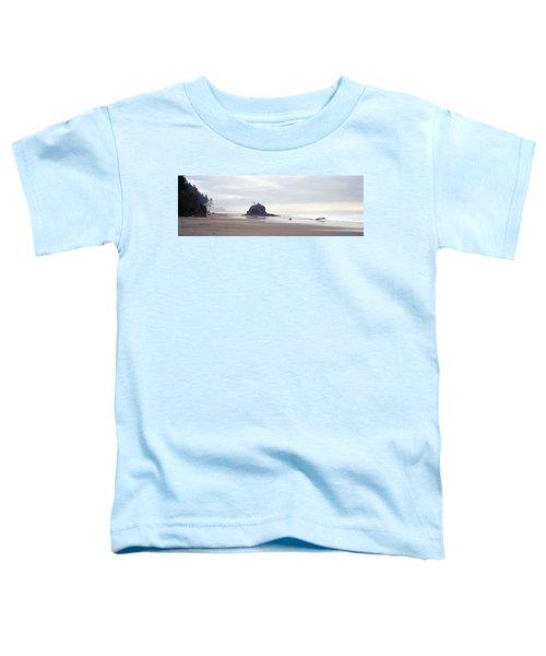 Coast La Push Olympic National Park Wa Toddler T-Shirt by Panoramic Images