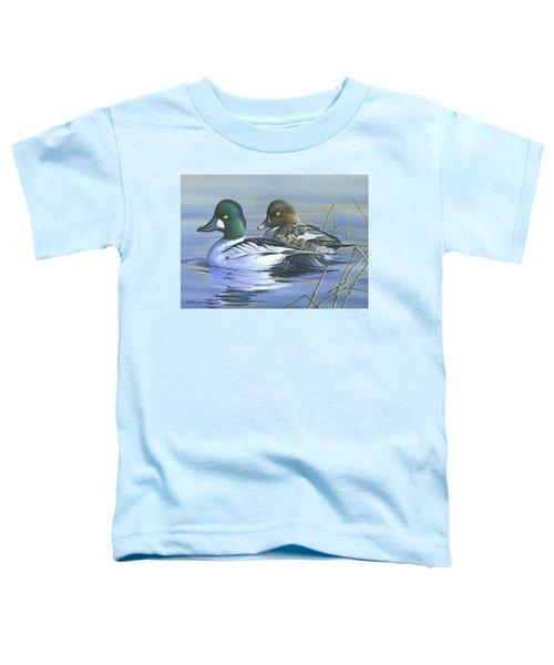Common Goldeneye Toddler T-Shirt