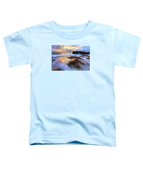 Toddler T-Shirt featuring the photograph Coral Garden by Debra and Dave Vanderlaan