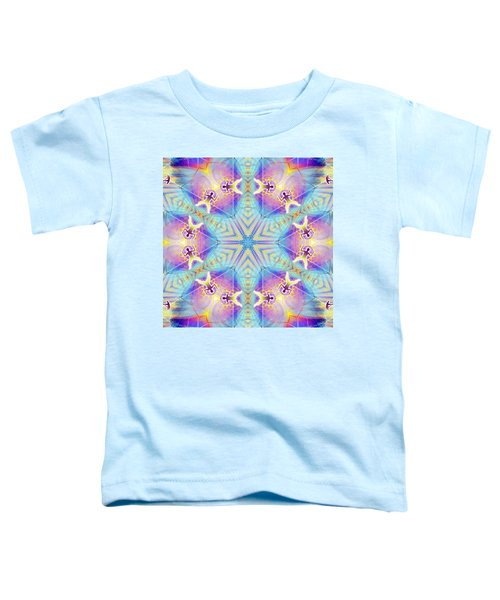 Cosmic Spiral Kaleidoscope 17 Toddler T-Shirt