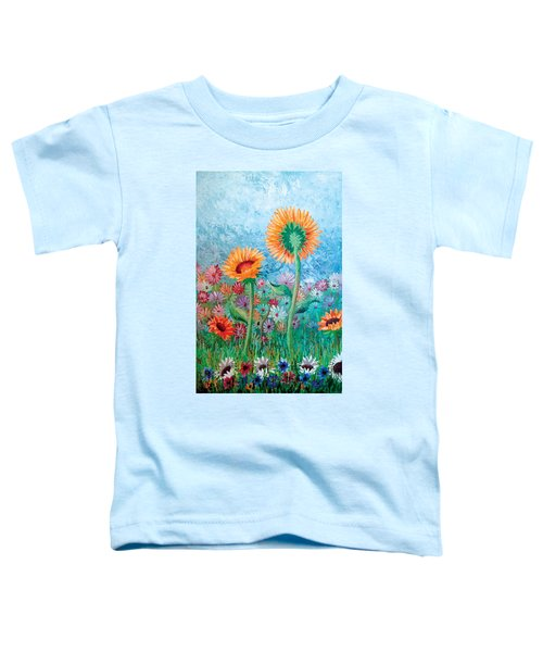 Courting Sunflowers Toddler T-Shirt