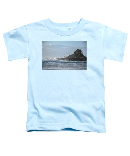 Cox Bay Afternoon Waves Toddler T-Shirt