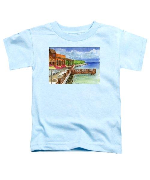 Cozumel Mexico Little Pier Toddler T-Shirt