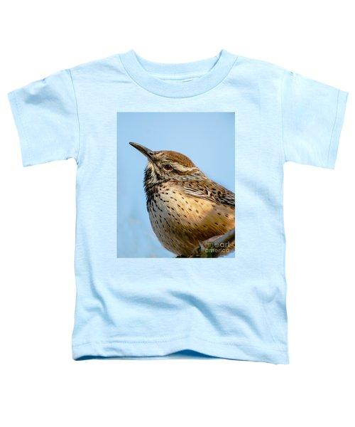 Cute Cactus Wren Toddler T-Shirt