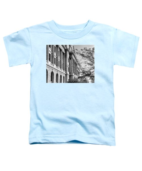 Cuyahoga County Court House Toddler T-Shirt