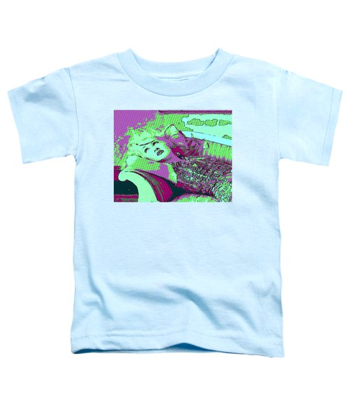 Cyndi Lauper Toddler T-Shirt