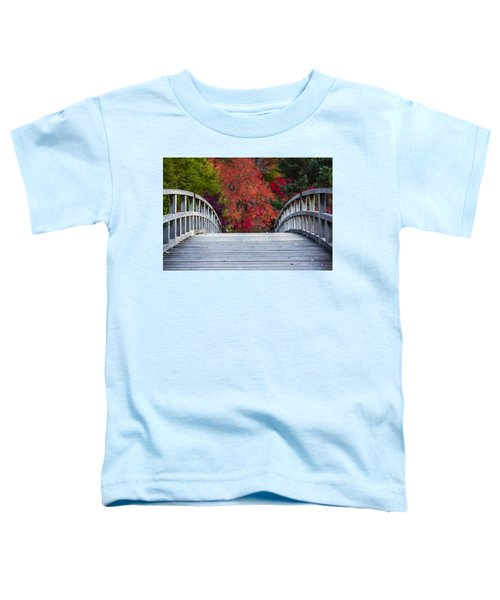 Toddler T-Shirt featuring the photograph Cypress Bridge by Sebastian Musial