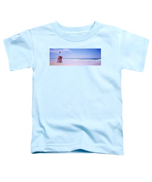 Daytona Beach Fl Life Guard  Toddler T-Shirt