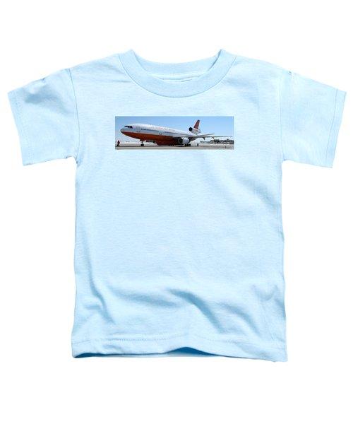 Dc-10 Air Tanker At Rapid City Toddler T-Shirt