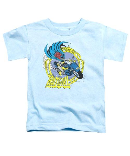 Dc - Batgirl Motorcycle Toddler T-Shirt