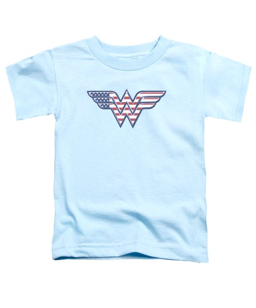 Dc - Red,white And Blue Toddler T-Shirt