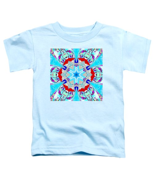 Deep Blue Geometry Toddler T-Shirt