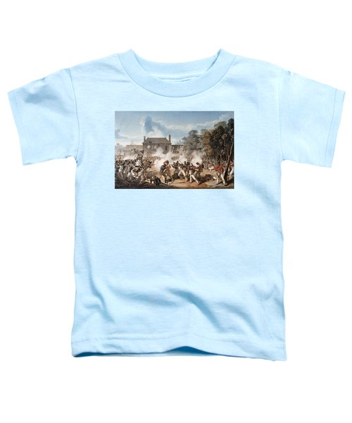 Defence Of The Chateau De Hougoumont Toddler T-Shirt