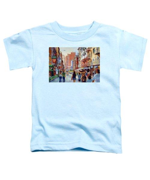 Dinner In Little Italy Toddler T-Shirt