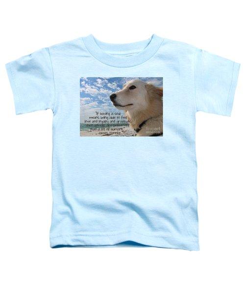 Doggie Soul Toddler T-Shirt