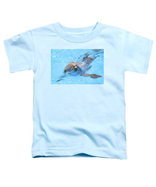 Dolphin Swimming Toddler T-Shirt