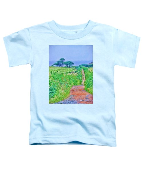 Down To The Sea Herm Island Toddler T-Shirt