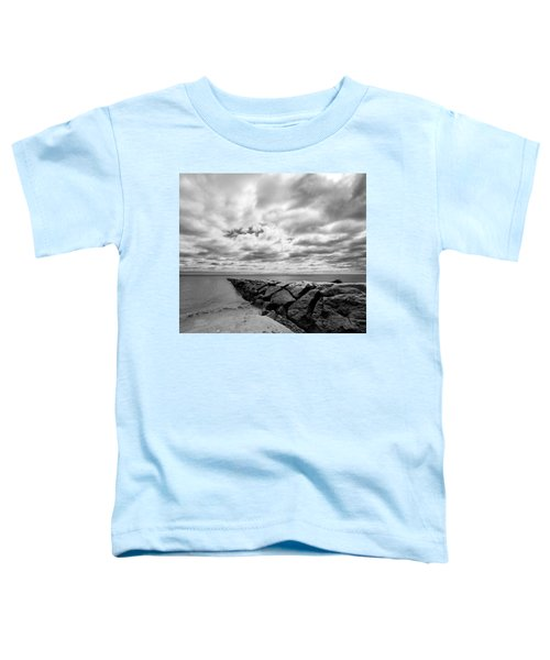 Dramatic Sky At Penfield Jetty Toddler T-Shirt