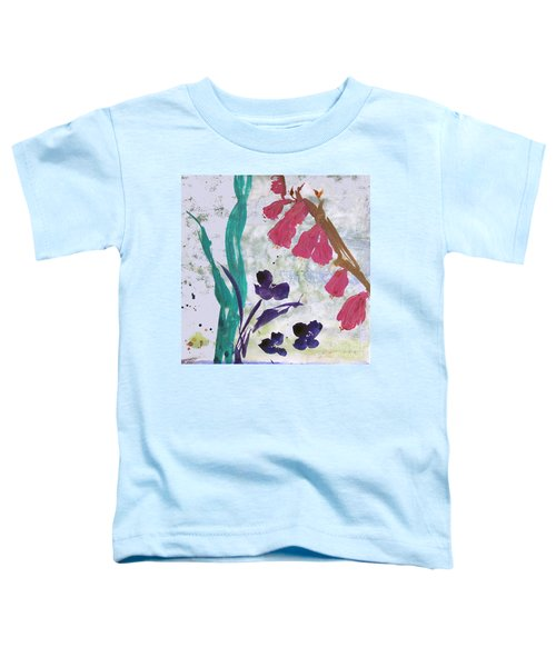 Dreamy Day Flowers Toddler T-Shirt