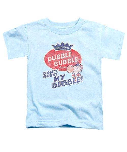 Dubble Bubble - Burst Bubble Toddler T-Shirt