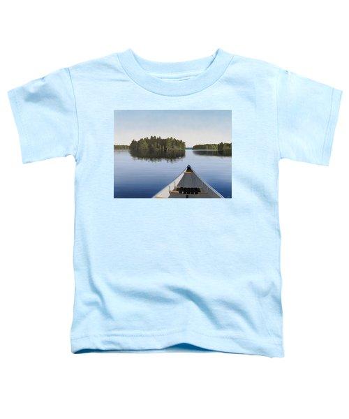 Early Evening Paddle Aka Paddle Muskoka Toddler T-Shirt
