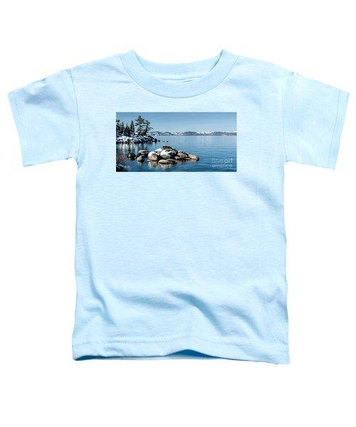 East Shore Snow Toddler T-Shirt