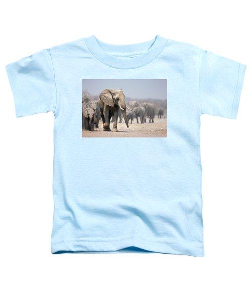 Elephant Feet Toddler T-Shirt