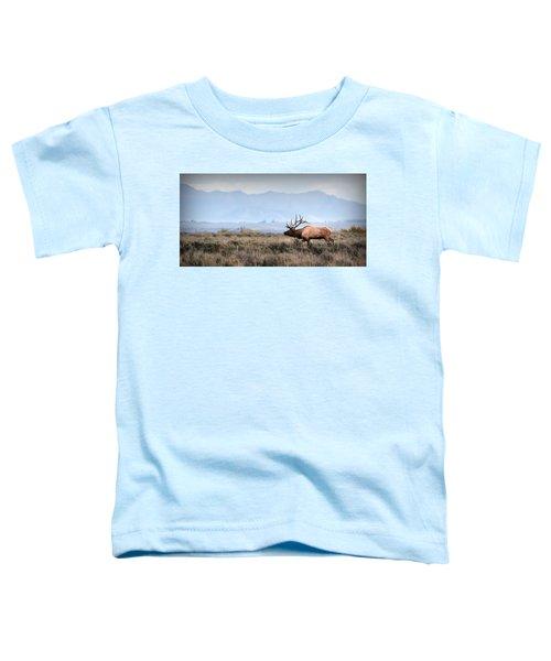 Elk Crossing Toddler T-Shirt