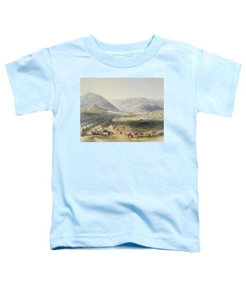 Encampment Of The Kandahar Army Toddler T-Shirt