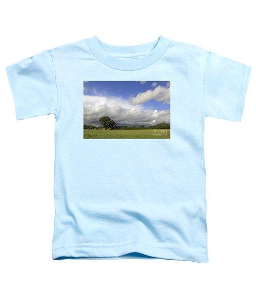 English Oak Under Stormy Skies Toddler T-Shirt