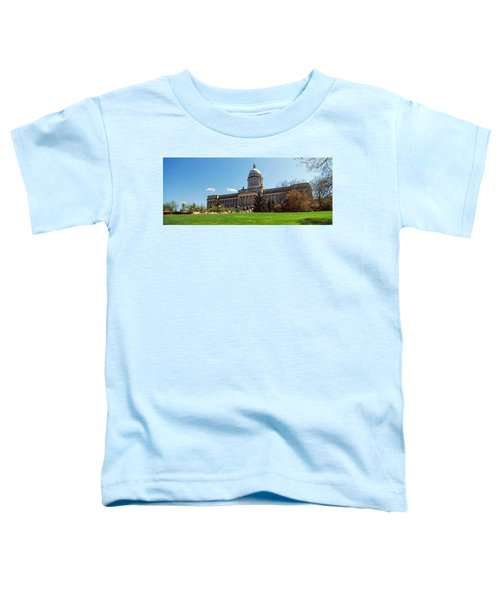 Facade Of State Capitol Building Toddler T-Shirt