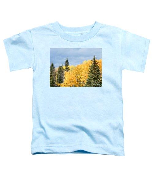 Fall Near Ya Ha Tinda Toddler T-Shirt